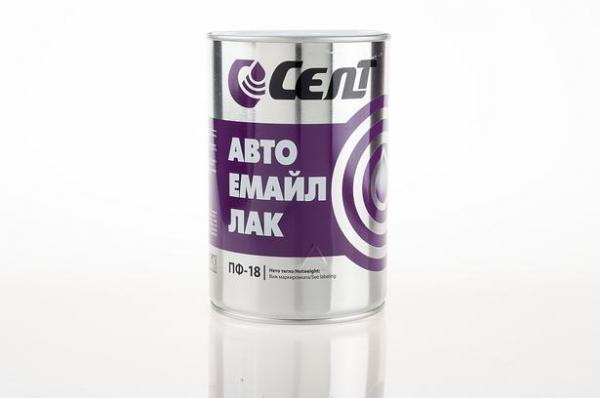 Автоемайллак Селт 0.8кг, кафяв 8007