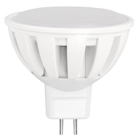 LED крушка 5.5W 220V GU5.3 MR16 6500K SMD Plastic