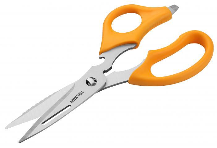 Ножица мултифункционална  220мм Tolsen