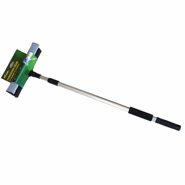 Четка за почистване на стъклата с телескопична дръжка 70-120 см