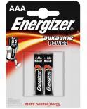 Батерия Energizer Alkaline Power AAA 1.5V 2бр.