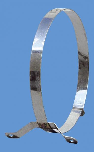 Скоба обикновена Ф150 инокс
