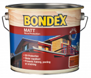 Лазурен лак Bondex Matt 0.75л, кестен
