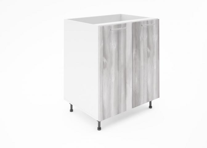 Крафт D6 долен шкаф с две врати (за мивка) 70см, дъб пикардия