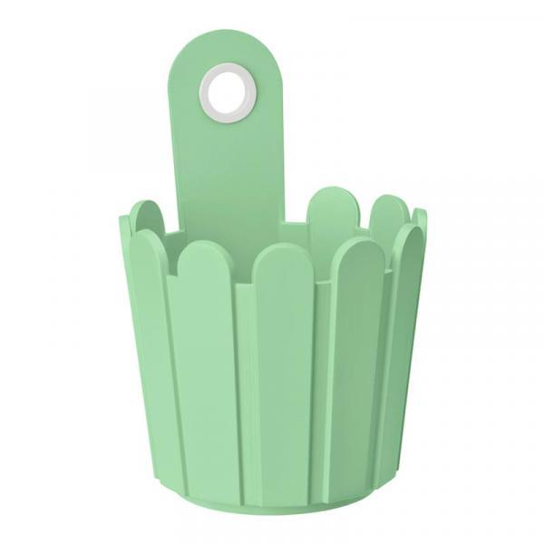 Кашпа Ландхаус ф15см светло зеленo
