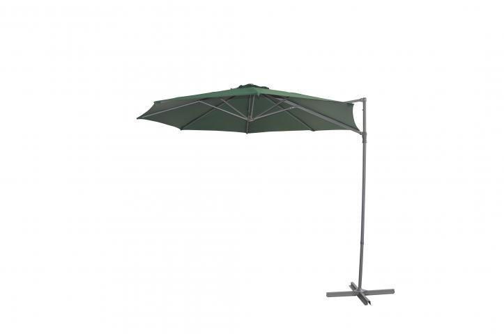 Градински чадър VARADERO ф270см, тъмно зелен