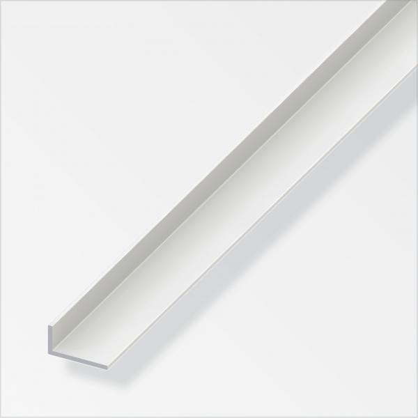 Ъглов профил 30X20 PVC бял 1м