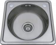 Кухненска мивка единична алпака 40х40 см