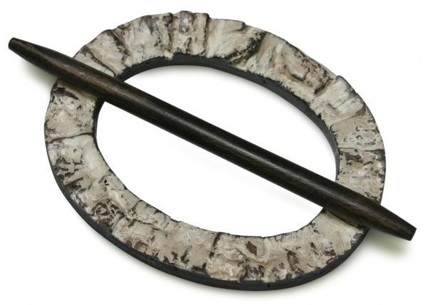 Декоративна халка овал бреза