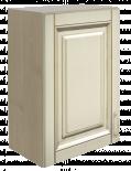 Горен шкаф с врата 50см Ванила