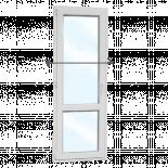 PVC Балконска врата KMG 700/2000, стъклопакет 24 мм/4 кам. лява