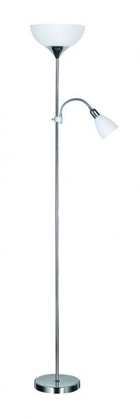 Лампион ARTEMIS II хром 1xE27+1xE14 H178cm