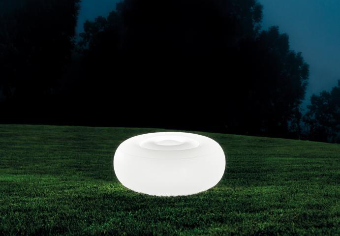 Надуваема табуретка с вградено LED осветление 3