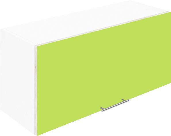Крафт G19 горен с една врата клапваща 90см, зелен гланц