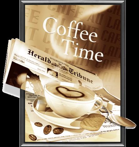 Картина 3D 50х70см Coffee Time