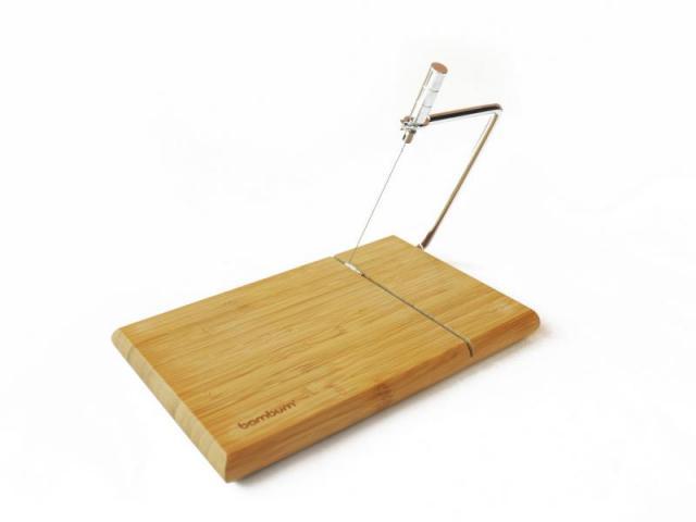 Бамбукова дъска за рязане на сирене