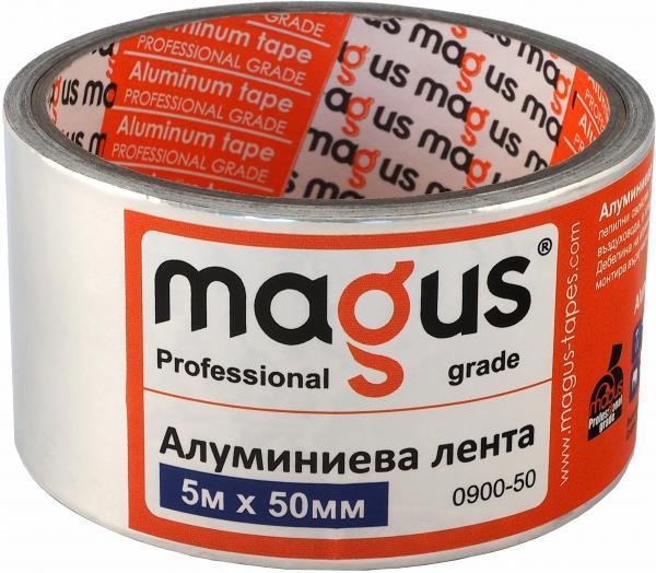 Алуминиева лента МАГУС 70 микрона, 5м/50мм