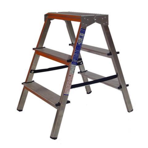 Стълба алуминиева 2x3 стъпала
