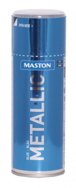 Спрей боя Maston 0.4л, металик синьо