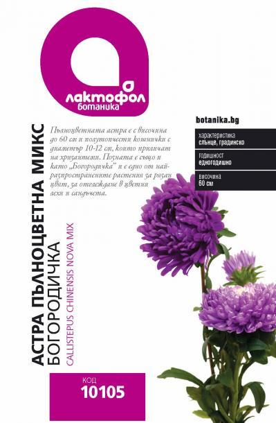 Лактофол БОТАНИК Астра пълноцветна микс / Богородичка