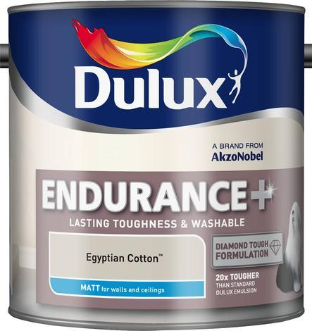 Интериорна боя DuluxMat суперустойчива, египетски памук 2.5л