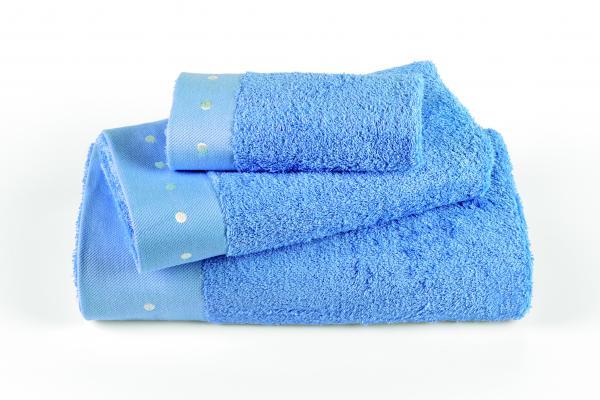 Хавлия Милано 100х150 см синьо