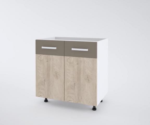 Urban долен шкаф с две врати 100см, лате