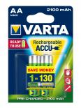 Акумулаторни батерии Varta 2100mAh АА 2бр