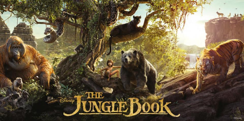 Фототапет Jungle Book 7 100x200 см