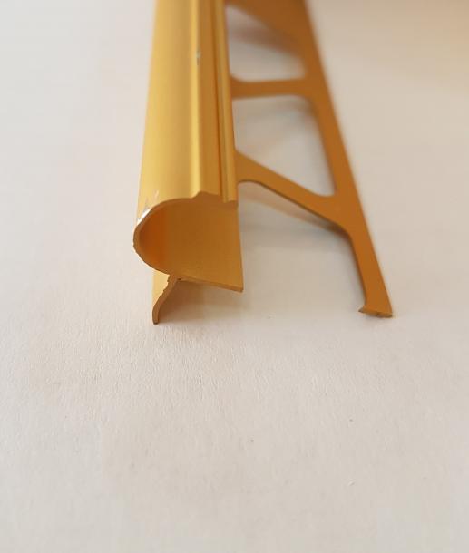 Лайсна ъглова стъпало 10мм Злато