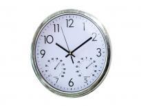 Часовник с хидро и термометър ф28