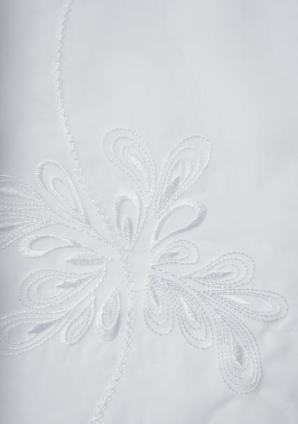 Перде Snow бяло 280 см