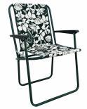 Сгъваем къмпинг стол Piccolo, хибискус зелен