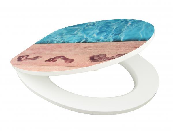 Тоалетна седалка ГЛАНЦ Blue Poolside