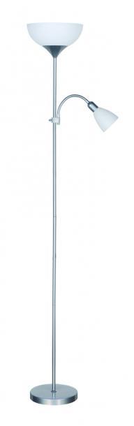 Лампион ARTEMIS II сребрист 1xE27+1xE14 H178cm