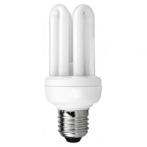 Eнергоспестяваща лампа  Real ЕСЛ 18W E27 2700К 4U мини