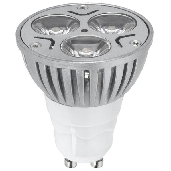 LED крушка  3W  GU10 топла светлина