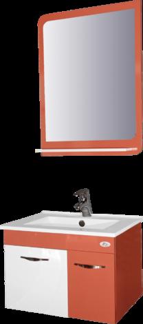 Комплект оранжев PVC шкаф