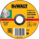 Абразивен диск за рязане неметал DeWalt 125мм