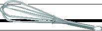Прибор за разбиване хром 25 см