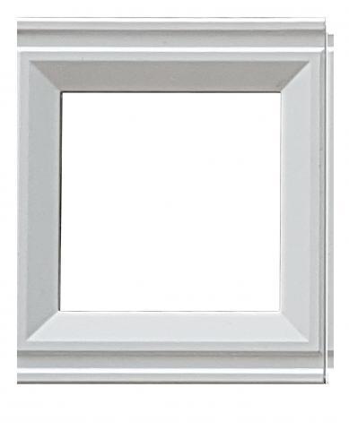 Рамка междинна LB Classic бяло