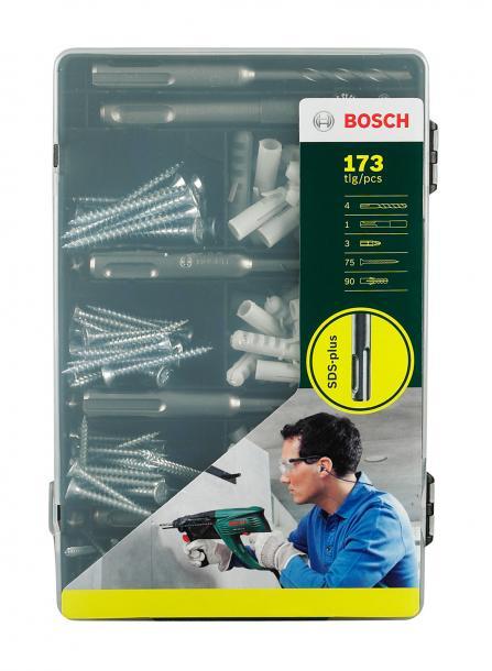 Комплект крепежи 173 части Bosch SDS+
