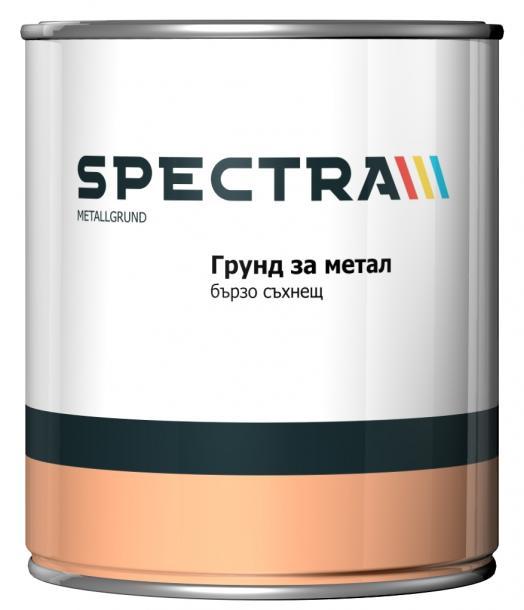 Алкиден грунд за метал Spectra Metalgrund 650 мл червена