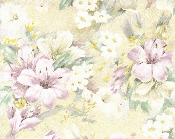 Тапет Жълти цветя