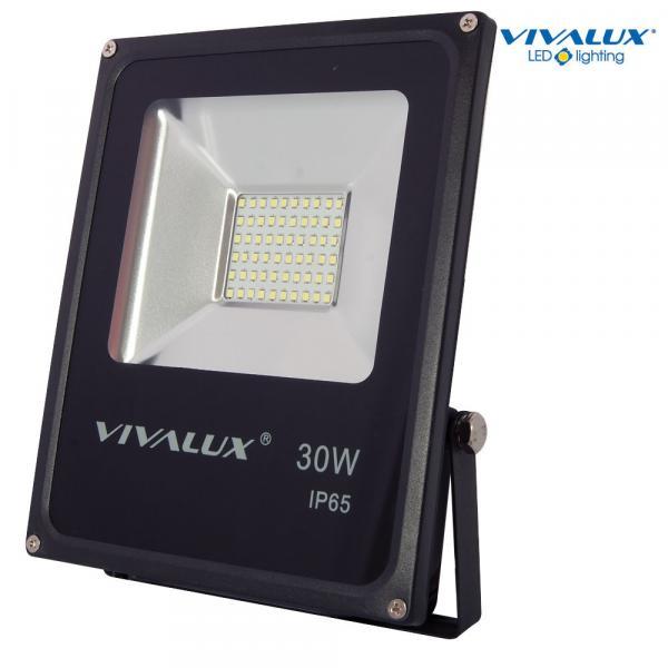 LED прожектор HELIOS LED 30W 2400lm 6400K черно IP65