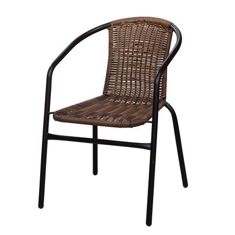 Стол Bistro,тъмно кафяв