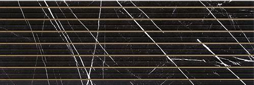 Agatha black line decor 40x120
