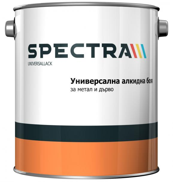 Алкидна боя Spectra Universallack кафява 2.5 л