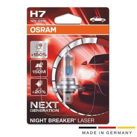 Aвтo лампа OSRAM H7 55W 12V NL