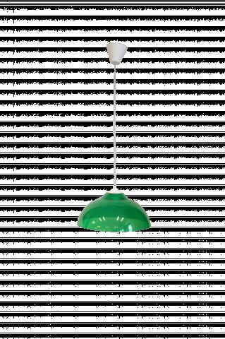 Пендел ELI PVC Ф300 Н125 Е27 зелен